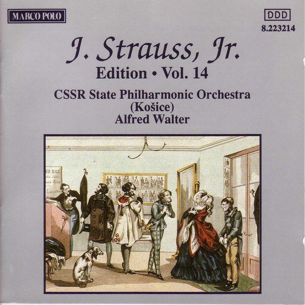 Slovak State Philharmonic Orchestra|STRAUSS II, J.: Edition - Vol. 14