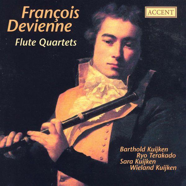Barthold Kuijken - DEVIENNE, F.: Flute Quartets, Opp. 16, 66 (Kuijken, Terakado)