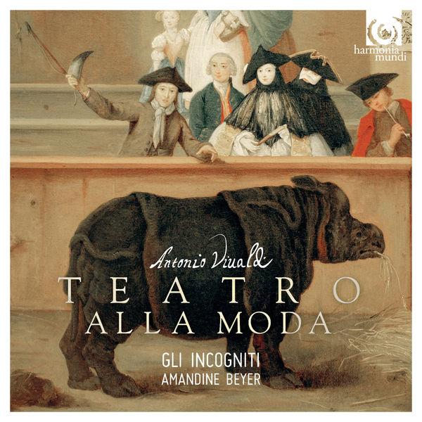 Amandine Beyer - Vivaldi : Teatro alla moda - Violin Concertos