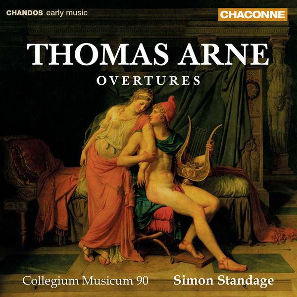 Simon Standage - Ouvertures