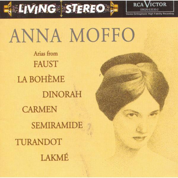 Anna Moffo - Arias from Faust, La bohème, Dinorah, Carmen, Turandot, Semiramide, Lakmé
