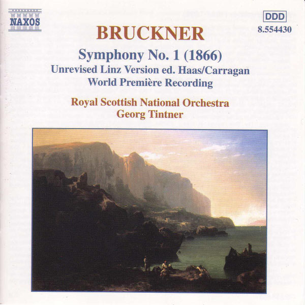 The Royal Scottish National Orchestra - BRUCKNER: Symphony No. 1, WAB 101 / Adagio to Symphony No. 3, WAB 103