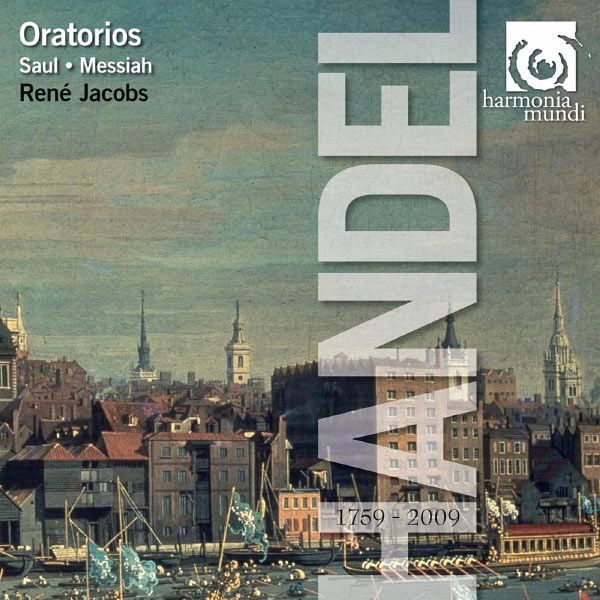René Jacobs - Handel : Oratorios (Saul, Messiah)