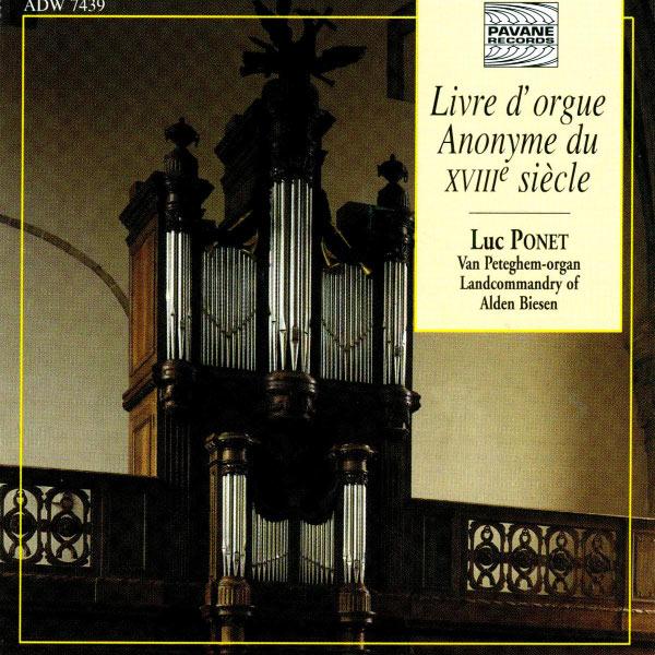 Album Livre D Orgue Anonyme Du Xviiie Siecle Various
