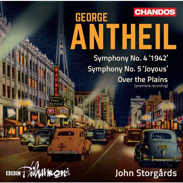 BBC Philharmonic Orchestra - Antheil: Orchestral Works, Vol. 1
