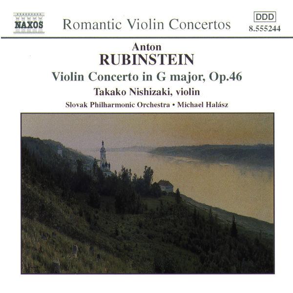 Takako Nishizaki - Rubinstein: Violin Concerto / Cui: Suite Concertante