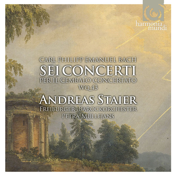 Andreas Staier - Carl Philipp Emanuel Bach : Concertos pour clavier