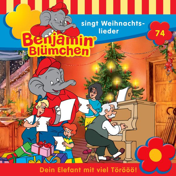 Benjamin Blümchen - Folge 74 - Benjamin Blümchen singt Weihnachtslieder