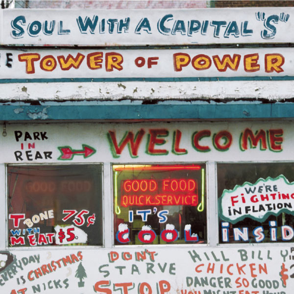 """Tower Of Power - Soul With A Capital """"S"""" - The Best Of Tower Of Power"""