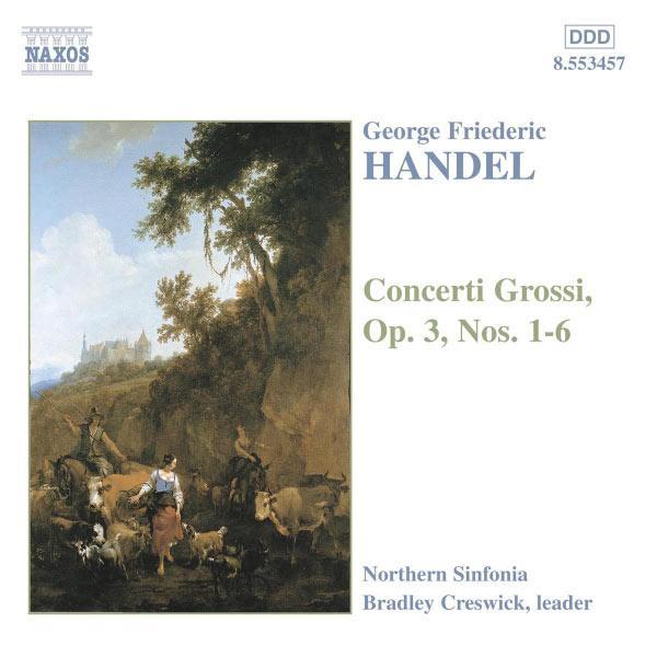 Northern Sinfonia - HANDEL: Concerti Grossi Op. 3, Nos. 1- 6