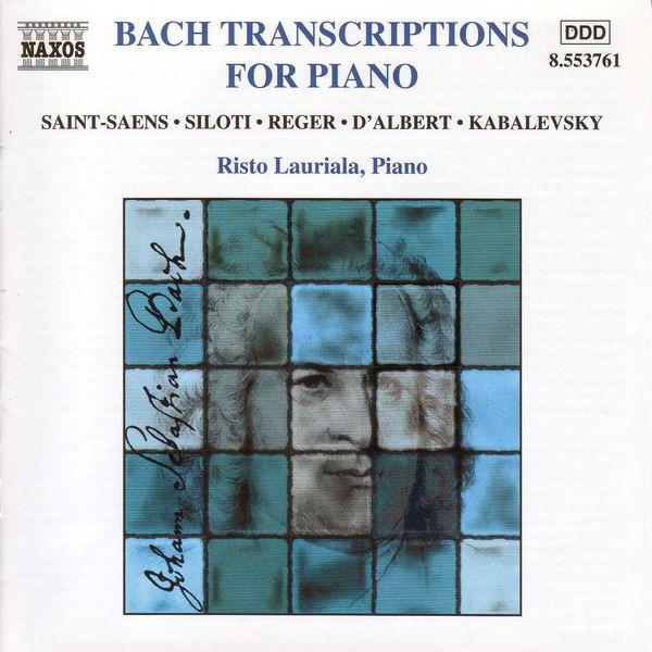 Risto Lauriala - BACH TRANSCRIPTIONS FOR PIANO