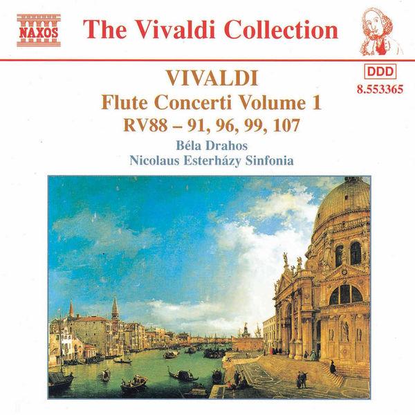 Béla Drahos - Flute Concertos, Vol.  1