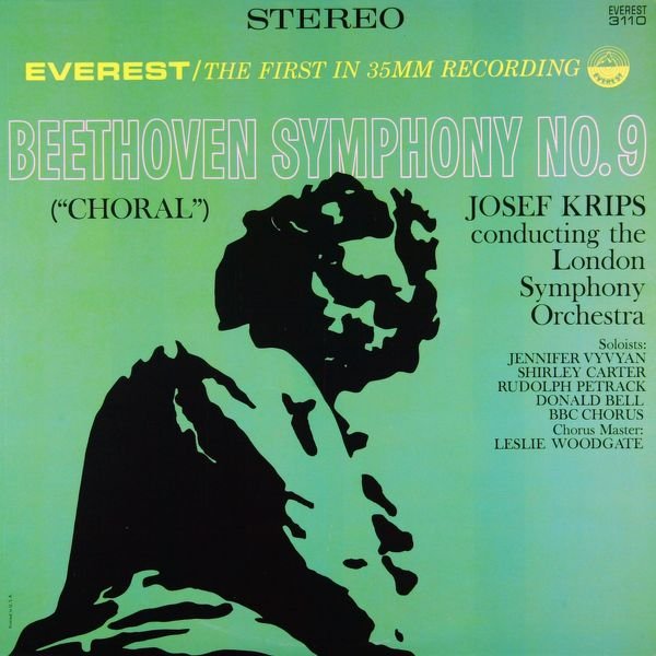 "London Symphony Orchestra - Beethoven: Symphony No. 9 in D Minor, Op. 125 ""Choral"" (Transferred from the Original Everest Records Master Tapes)"