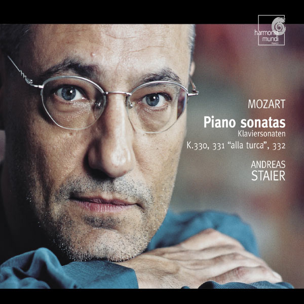 Andreas Staier - Wolfgang Amadeus Mozart : Sonates pour piano