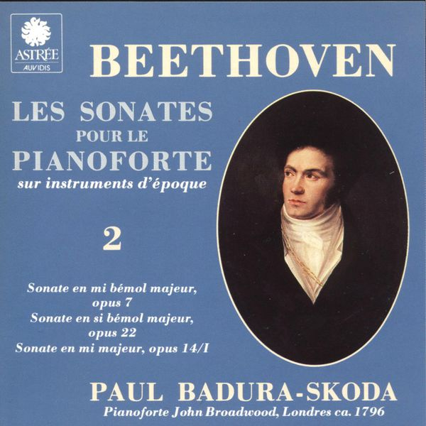 Paul Badura-Skoda - Beethoven: Les sonates pour le piano-forte sur instruments d'époque, Vol. 2