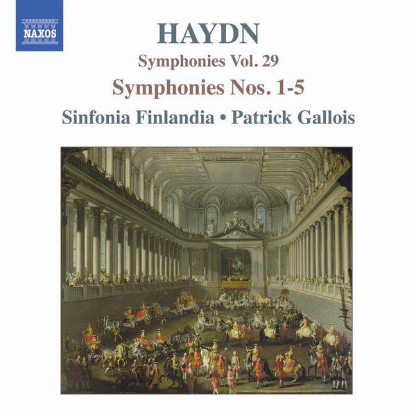 Jyvaskyla Sinfonia - Symphonies, Vol. 29 (Nos. 1, 2, 3, 4, 5)