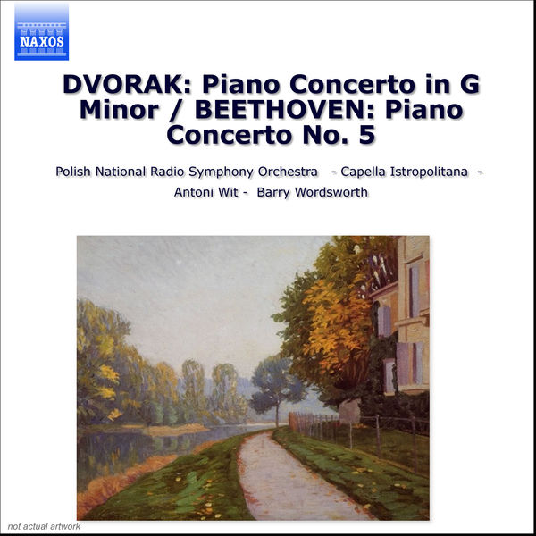 """Jeno Jando - DVORAK: Piano Concerto in G minor / BEETHOVEN: Piano Concerto No. 5, """"Emperor"""""""
