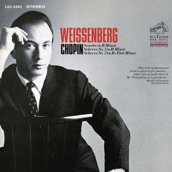 Alexis Weissenberg - Chopin: Sonata in B Minor, Scherzo No. 1 in B Minor & Scherzo No. 2 in B-Flat Minor