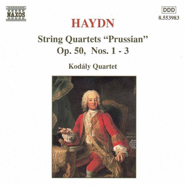 Kodaly Quartet - HAYDN: String Quartets Nos. 36-38