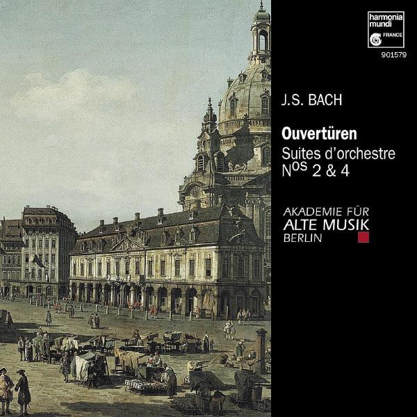 Akademie für Alte Musik Berlin - J.S. Bach: Suites pour orchestre No. 2 & 4
