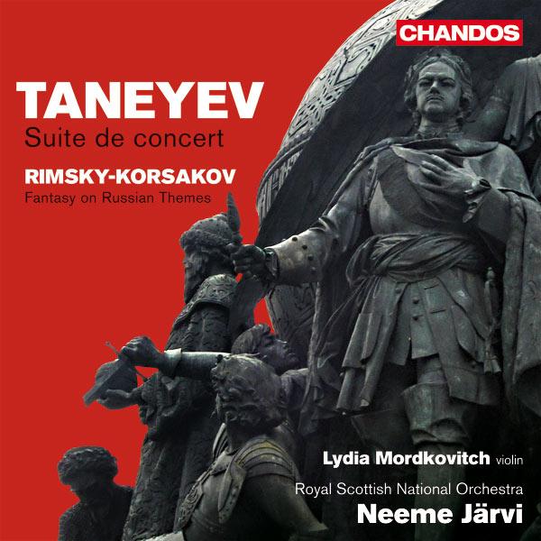 Neeme Järvi - TANEYEV, S.I.: Suite de concert / RIMSKY-KORSAKOV, N.A.: Fantasia on 2 Russian Themes (Mordkovitch, Royal Scottish National Orchestra, N. Jarvi)