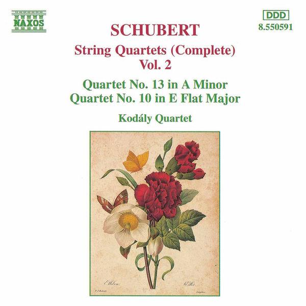 Kodaly Quartet - Quatuors à cordes (Intégrale, volume 2)