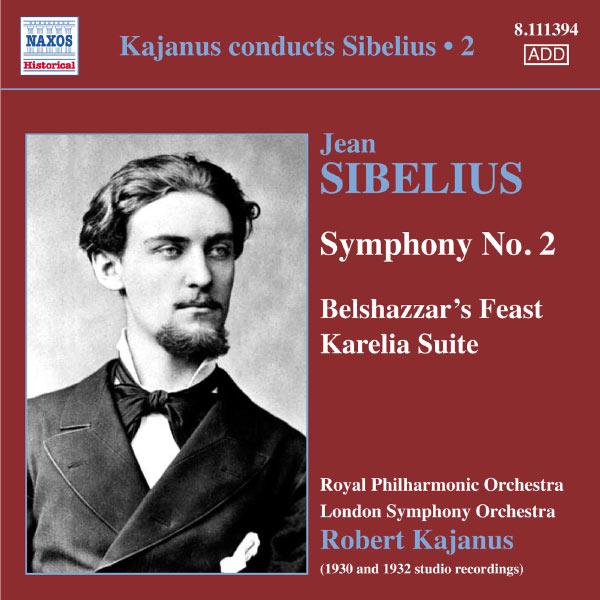 Robert Kajanus - Robert Kajanus dirige Sibelius (Volume 2)