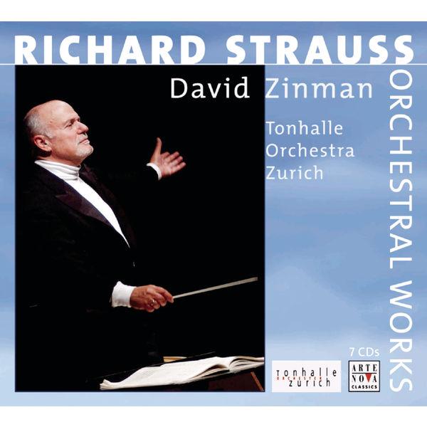 David Zinman - Richard Strauss : Orchestral Works (Complete Edition)