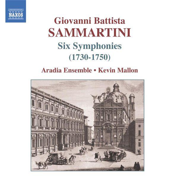 Aradia Ensemble - SAMMARTINI, G.B.: Symphonies J-C 4, 9, 16, 23, 36, 62