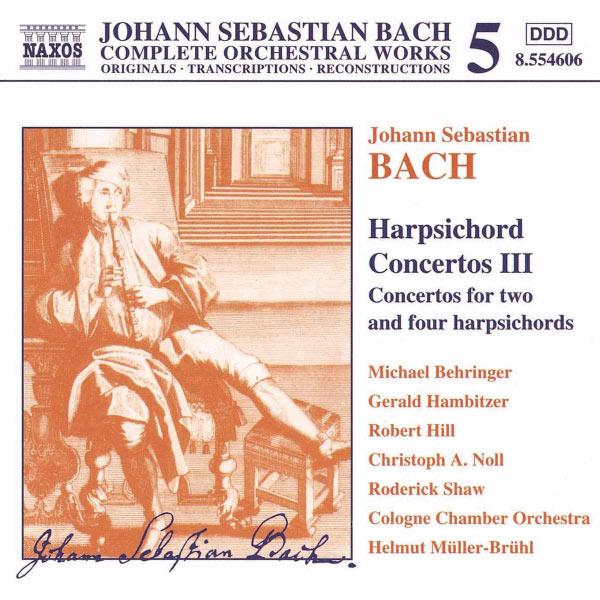 Michael Behringer - Harpsichord Concertos, Vol.  3