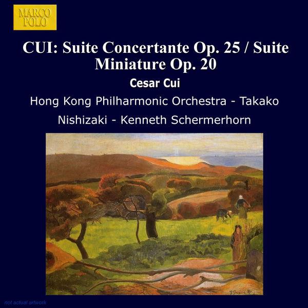 Takako Nishizaki - Cui: Suite Concertante Op. 25 / Suite Miniature Op. 20