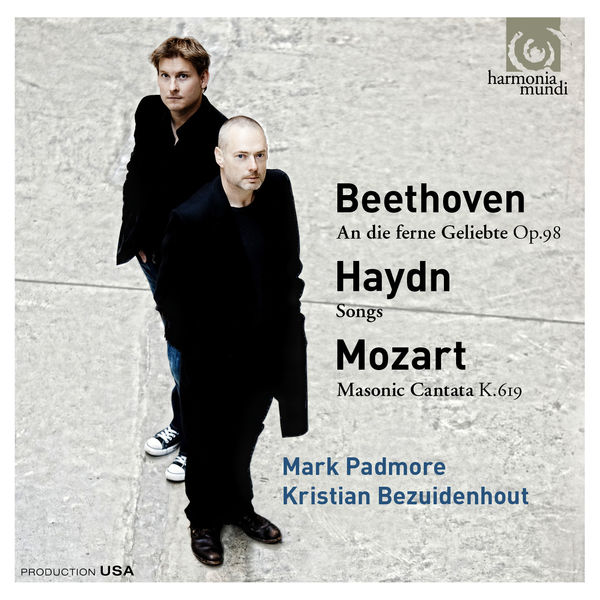 Mark Padmore - Beethoven - Haydn - Mozart : Lieder