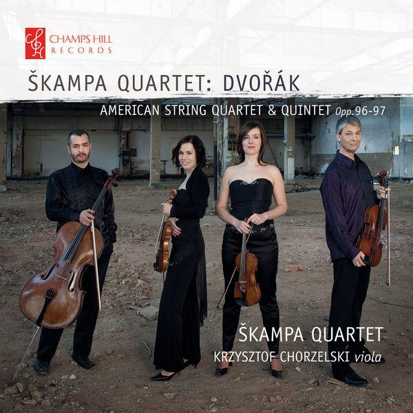 Skampa Quartet - Dvořák: American String Quartet & Quintet, Op. 96-97