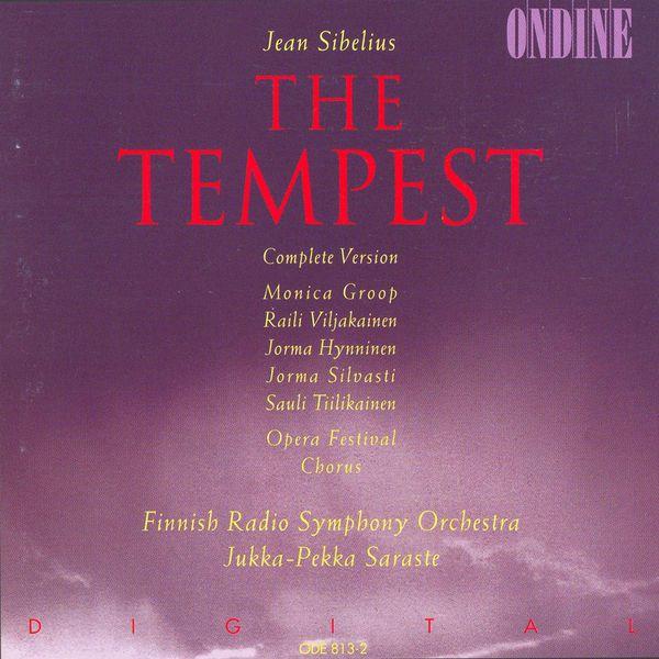 Monica Groop - Sibelius : The Tempest (Complete version)
