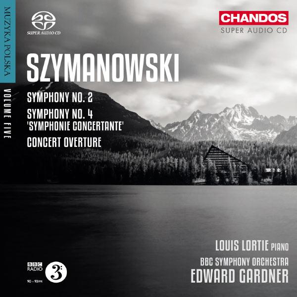 Edward Gardner - Symphonies n°2 et n°4 - Ouverture de concert