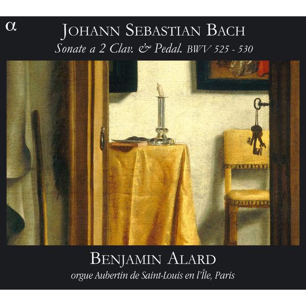 Benjamin Alard - Johann Sebastian Bach : Sonate en trio pour orgue BWV525-530