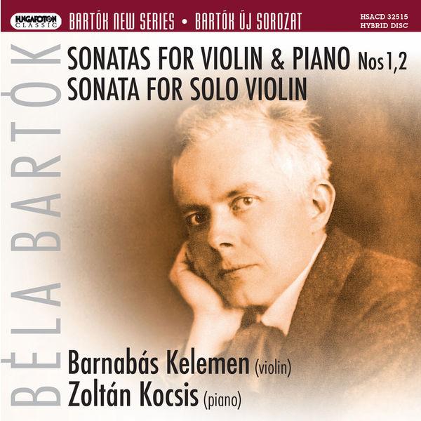 Barnabás Kelemen - Bartók: Works for Violin & Piano