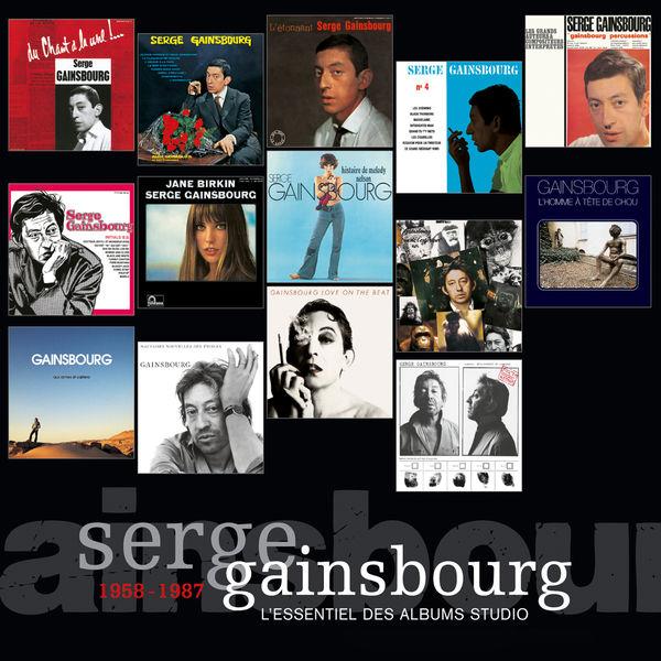 Serge Gainsbourg - L'Essentiel Des Albums Studio