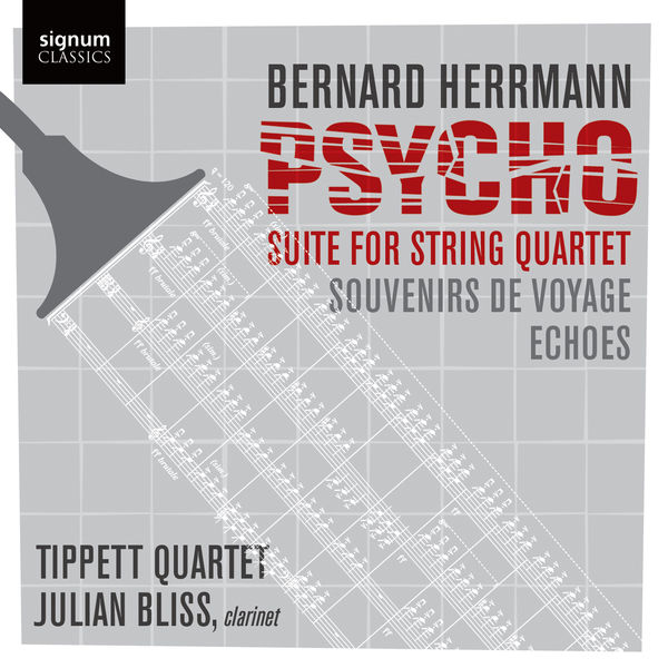 Tippett Quartet - Psycho: Suite for String Quartet