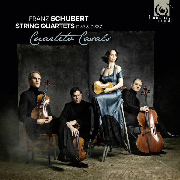 Cuarteto Casals - Franz Schubert : String Quartets (Quatuors à cordes) D.87 & D.887