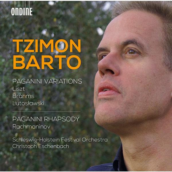 Tzimon Barto - Liszt, Brahms & Lutosławski: Paganini Variations - Rachmaninov: Paganini Rhapsody