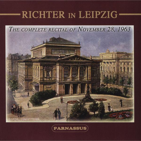Sviatoslav Richter|Richter in Leipzig (Live, 1963. Beethoven, Brahms, Chopin)