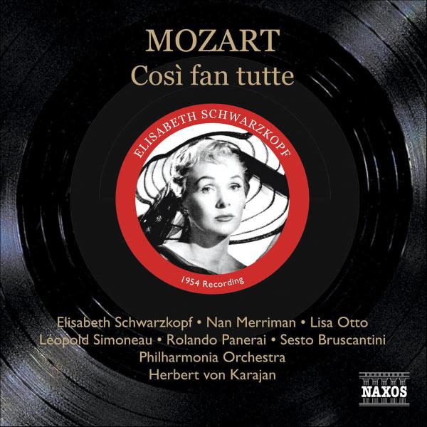 Herbert von Karajan - Wolfgang Amadeus Mozart : Cosi fan Tutte