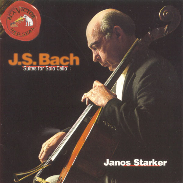 Janos Starker - Johann Sebastian Bach : Suites for Solo Cello