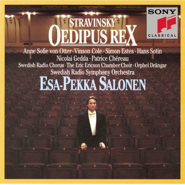 Esa-Pekka Salonen - Stravinsky:  Oedipus Rex