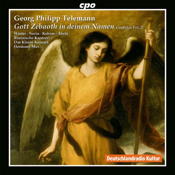 Jan Kobow - Telemann: Three Cantatas