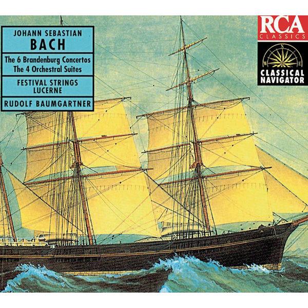 Rudolf Baumgartner - Bach: Brandenburg Concertos (6) & Orchestral Suites (4)/Classical Navigator Serie