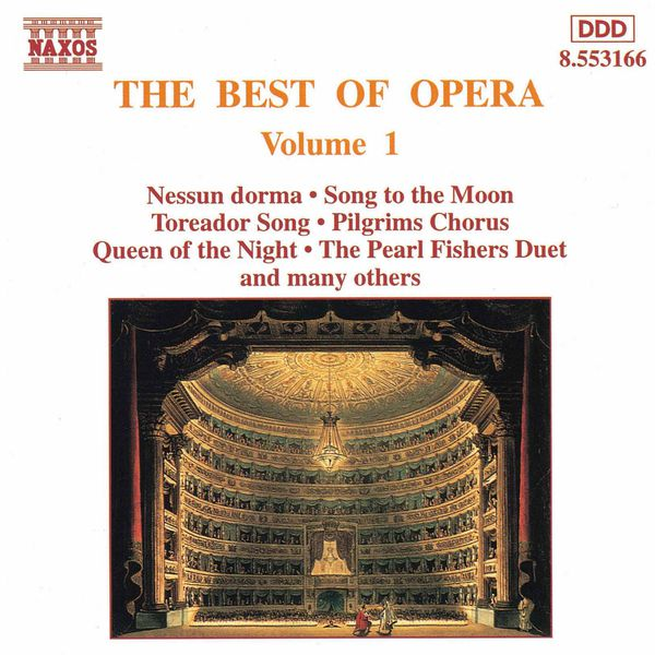 Hungarian State Opera Orchestra - BEST OF OPERA, VOL. 1