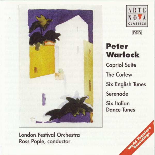 Ross Pople - Warlock: Capriol Suite/The Curlew/6 Italian Dances/6 English Tunes