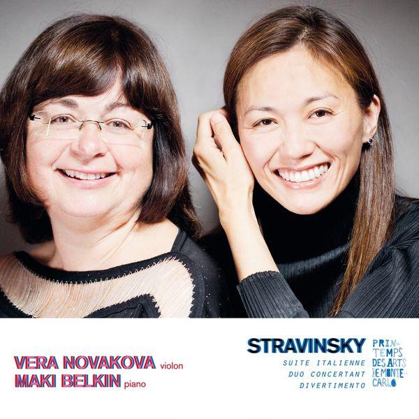 Véra Novakova - Stravinsky: Oeuvres pour violon et piano